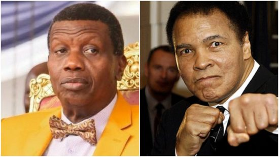 Enoch Adeboye and Muhammad Ali