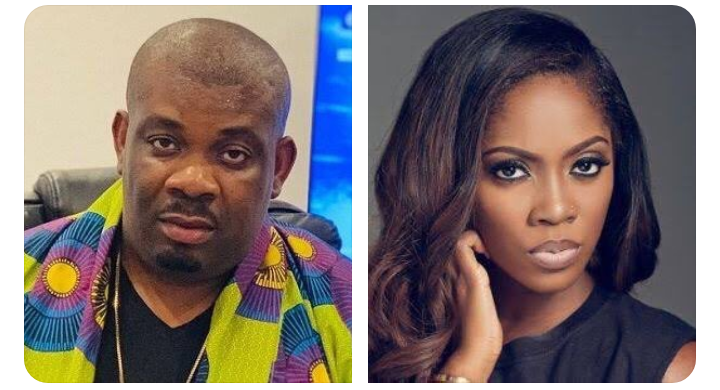 Don Jazzy and Tiwa Savage