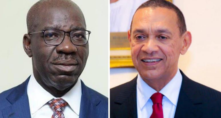 Ben Murray-Bruce and Godwin Obaseki