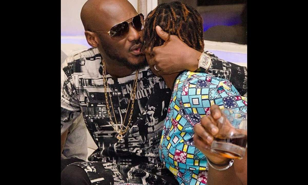 Annie Idibia and 2Face