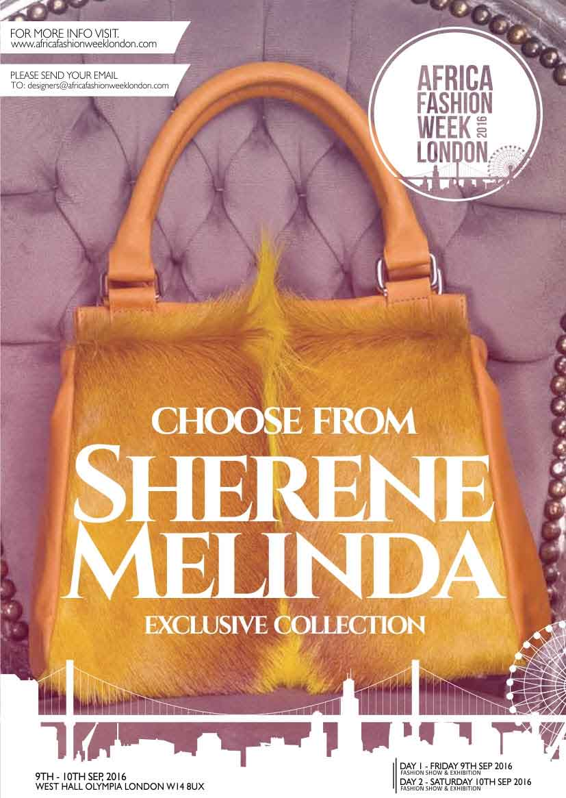 Sherene Melinda is a London-based designer handbag brand with a unique, South African inspired style. Their current collection of contemporary handbags each feature authentic, vibrant, springbok hair-on-hide and the finest quality leathers both inside and out.