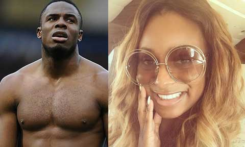 Victor Anichebe and DJ Cuppy
