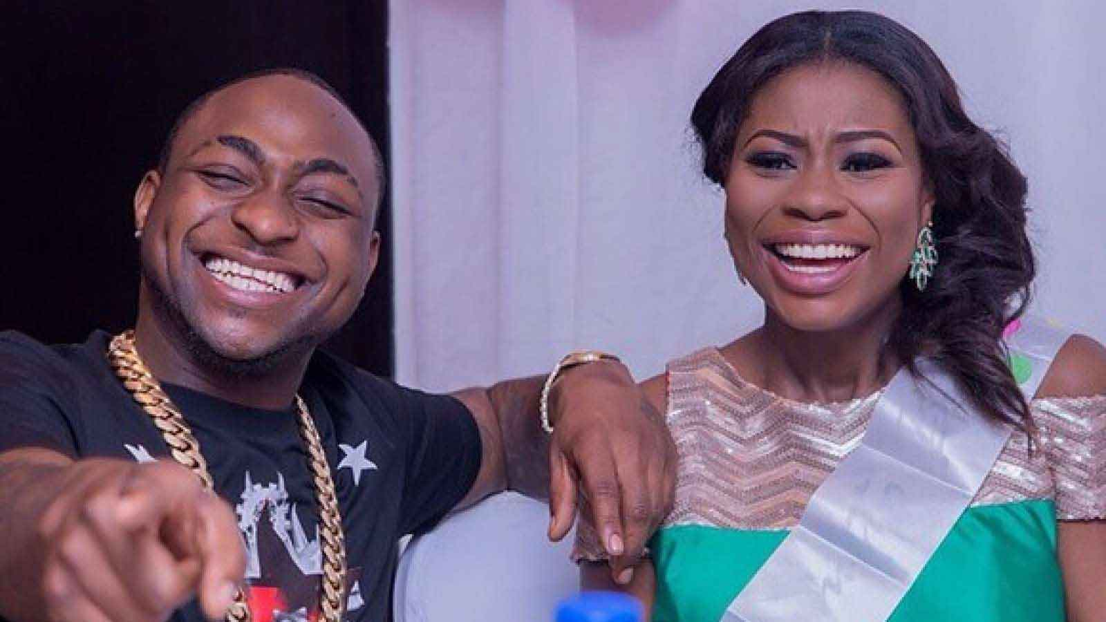 Davido and Sophia Momodu