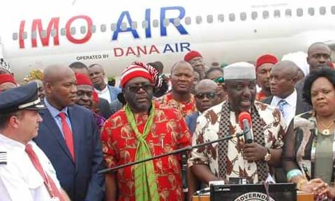 Imo State Becomes The First State In Nigeria To Have Its Own Airline As Okorocha Launches 'Imo Air'