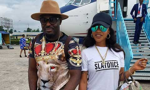 Tonto Dikeh and Jim Iyke