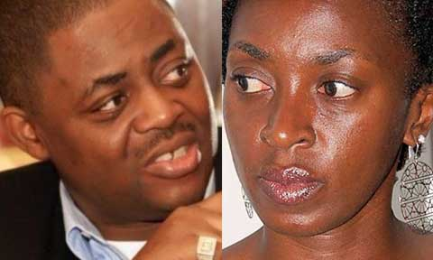 Femi Fani-Kayode and Kate Henshaw