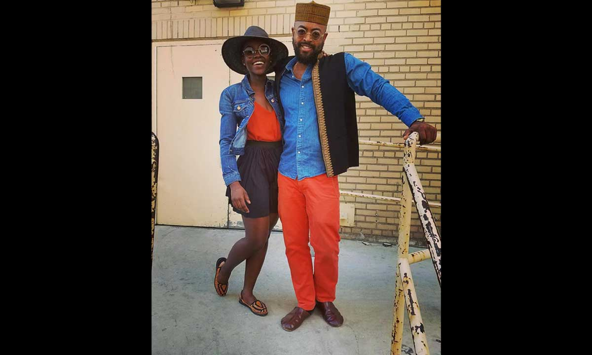 Lupita Nyong'o and Mobolaji Dawodu