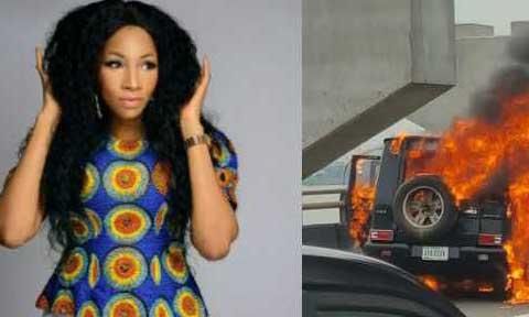 I Saved So Much Money To Buy My Burnt Mercedes Benz G-Wagon--Ex-Beauty Queen, Maryam Elisha