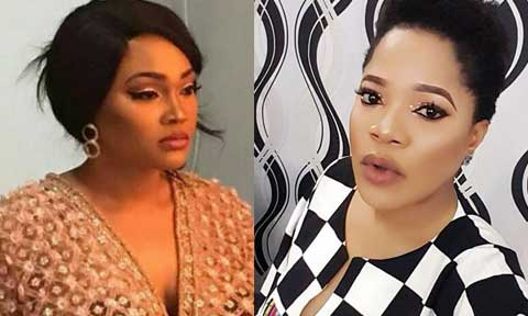 Toyin Abraham and Mercy Aigbe