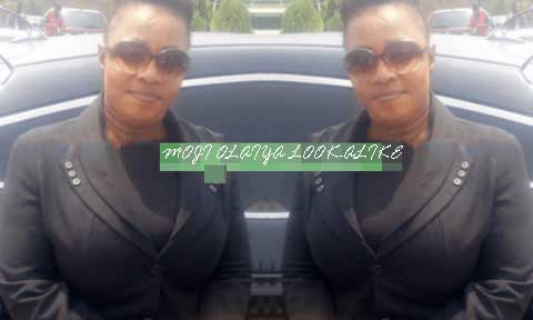 Moji Olaiya's Look-Alike