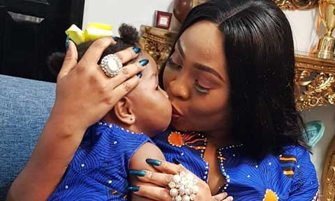 Seyi Law's Wife And Daughter Stun In Matching Outfits....See Photo