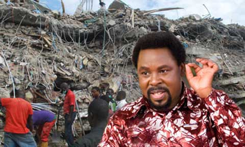 Nigeria's Former Aviation Minister Reveals Those Behind 'Bombing' Of T.B. Joshua's Church Building