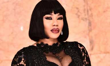 Photos: Check Out The N1.5million Dress Toyin Lawani Designed