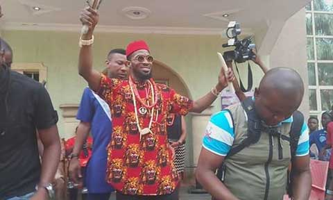 D'banj Honoured With Chieftaincy Title In Imo State (See Photos)