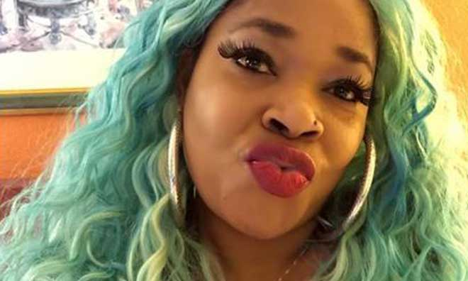"Actress Afrocandy Tongue Lashes Follower Who Described her as ""Ugly Old Woman"""