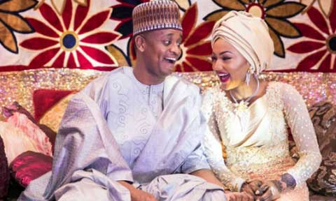Zahra Buhari And Ahmed Indimi