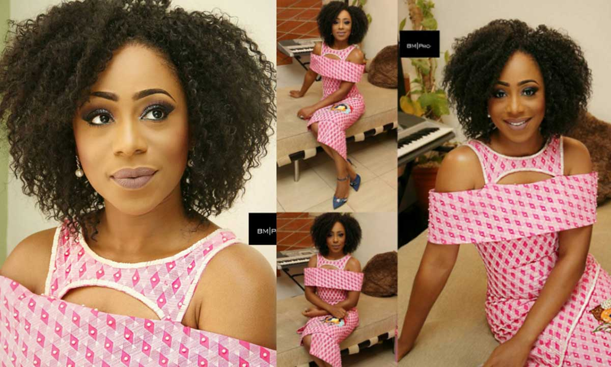 Dakore Reveals Why Her Husband Can't Look Outside