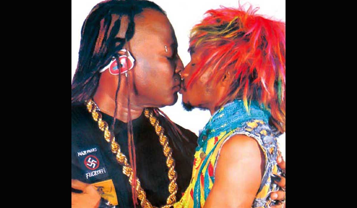 Denrele and Charly Boy
