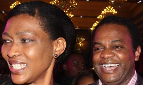 Donald Duke and wife Onari