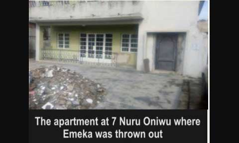 Nollywood Actor Emeka Evicted From Home Over N2.5million Owed Rent