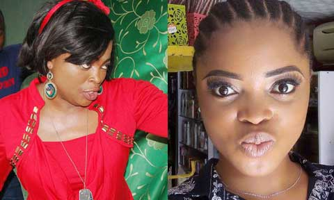 Funke Akindele and  Juliana Olayode