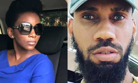 Phyno and  Genevieve Nnaji
