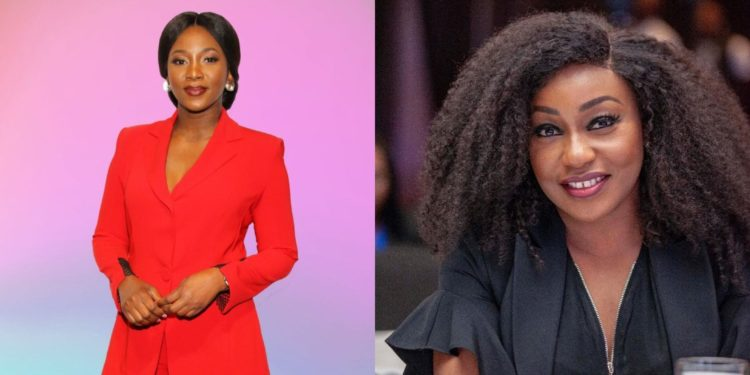 Genevieve Nnaji and Rita Dominic