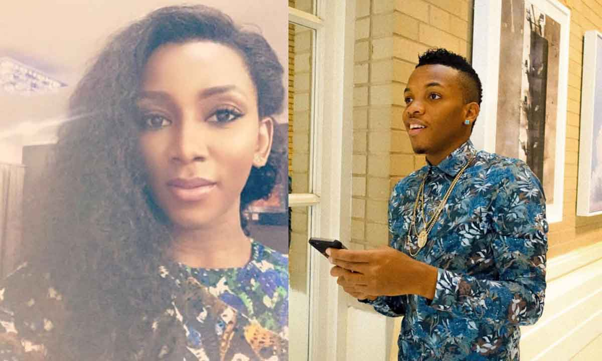 Tekno and Genevieve Nnaji