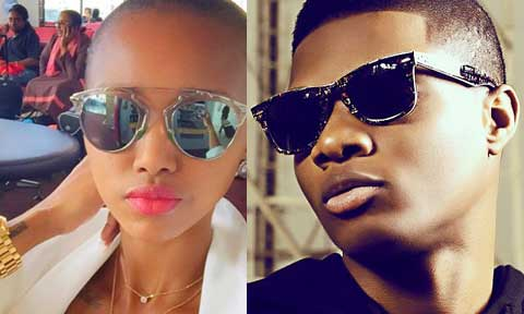 Unveiled: Ex BBA Star, HUddah Monroe Confirms Sleeping With Wizkid!