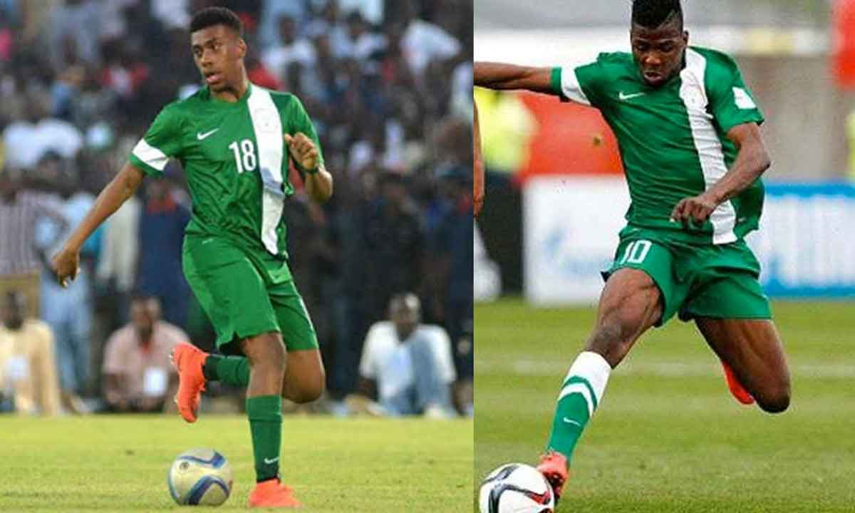 Iheanacho and Iwobi