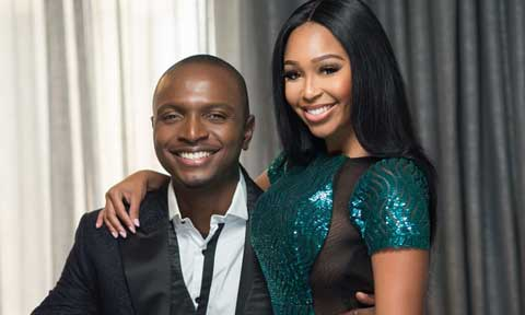 IK Osakioduwa and Minnie Dlamini
