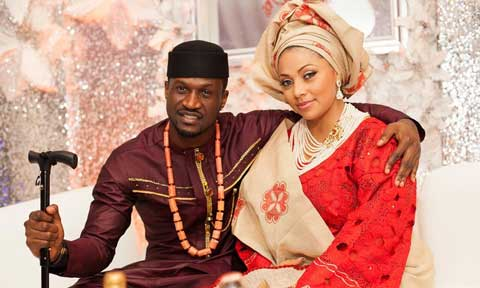 Lola Omotayo And Peter Okoye