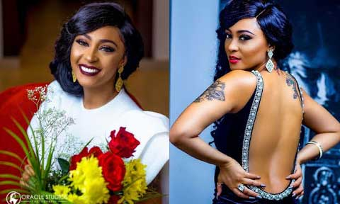 Tonto Dikeh and Rosy Meurer