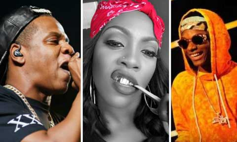 Wizkid, Tiwa Savage and Jay Z