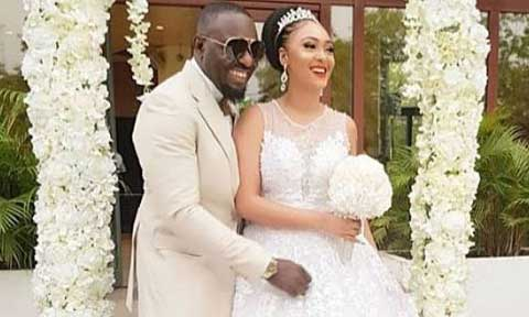 Jim Iyke and Roseline Meurer