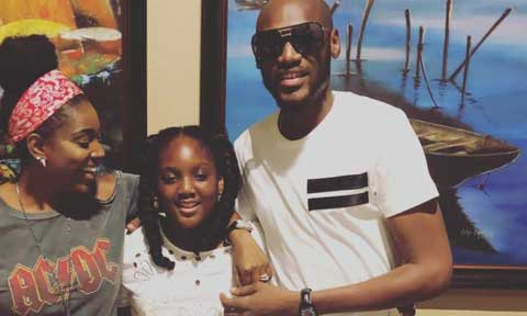 Annie Idibia and Tubaba