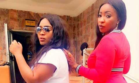 Anita Joseph and  Angela Okorie