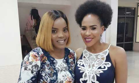 Fathia Balogun and Empress Njamah