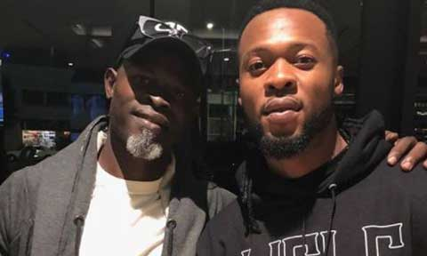 Flavour and Djimon Hounsou