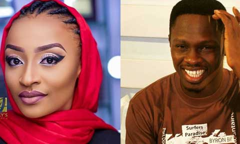 Ali Nuhu and Rahama Sadau