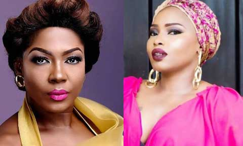 Halima Abubakar and Susan Peters