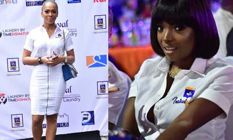 Photos: TBoss, Annie Idibia, Others Support Ubi Franklin At The Launch Of Instant Pickup App
