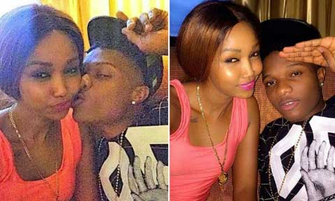 Wizkid and Huddah Monroe