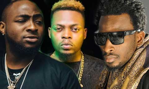Olamide, Davido and  9ice