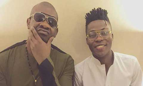 Donjazzy Takes Reekado Banks To The Cleaners
