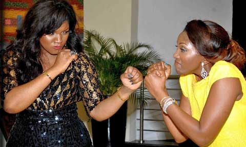 Genevieve and  Omotola