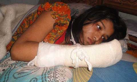 Husband Chops Off His Wife's Finger To Stop Her From Furthering Her Education