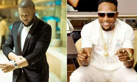 Hushpuppi and  Kcee
