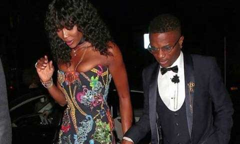 Naomi Campbell And Wizkid