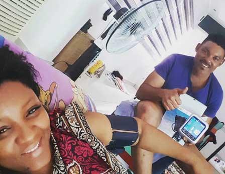 {filename}-Omotola Jalade New Home Gives Her High Blood Pressure